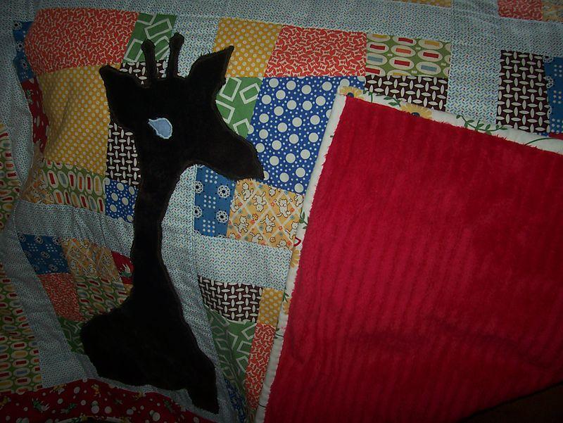 Giraffe quilt 3